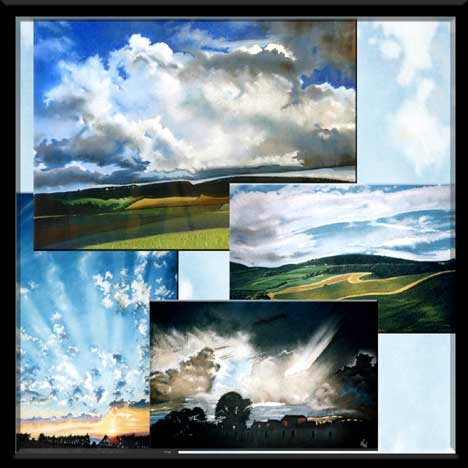 Cloud Art collection of Scottish Artist Dewar